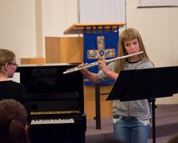 Flute performance