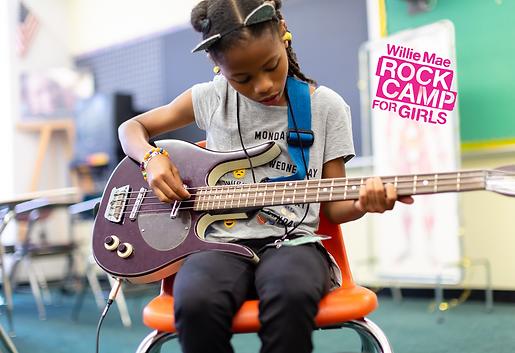 Girls Rock! Camp 2018. Photo by Alex Mat