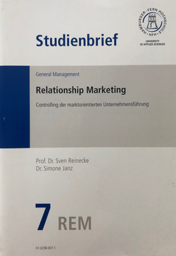 Studienbrief Relationship Marketing