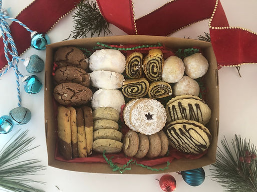 Assorted Christmas Cookie box