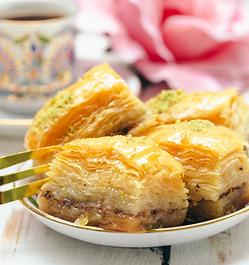 Mediterranean dessert of the month