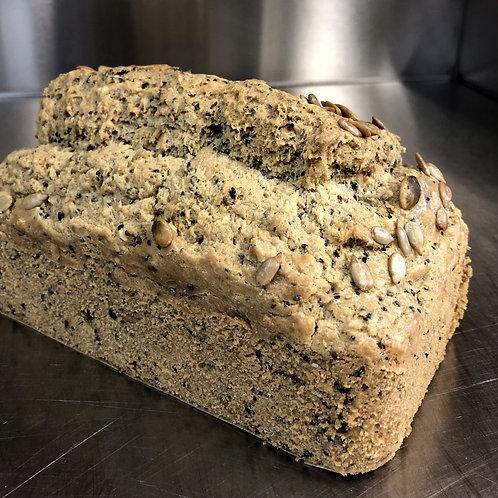 Tahini seed bread {Keto & Gluten-free}