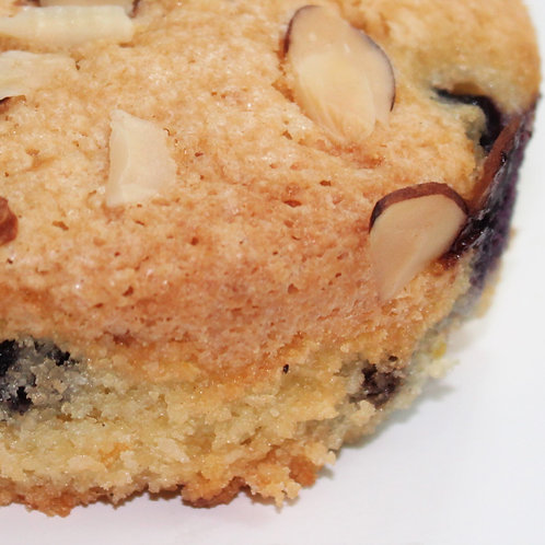 Almond and Coconut Berry Cake {Gluten&Dairy-Free}
