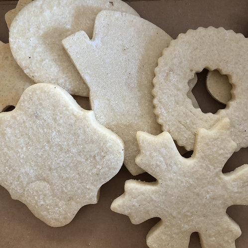Undecorated Sugar Cookies