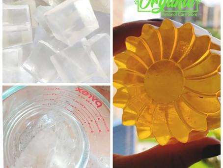 Nueva base de jabón de Glicerina Traslúcida BE ORGANIC COLOMBIA