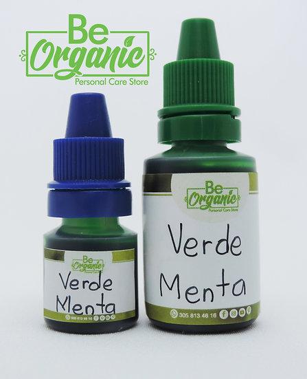 Colorante vegetal verde menta