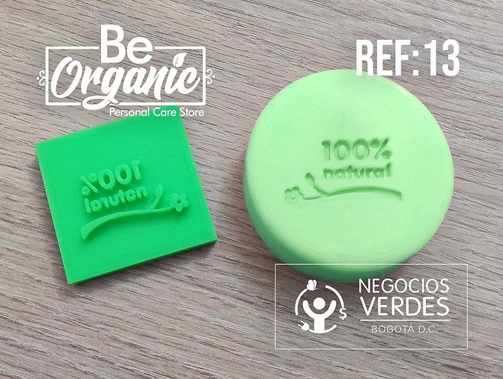 Sello Para Jabón   Ref#13   100% Natural