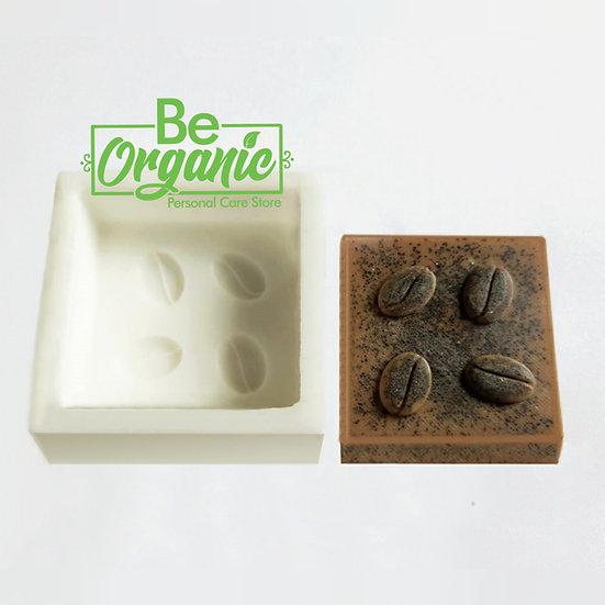 Molde de silicona 4 granos de café