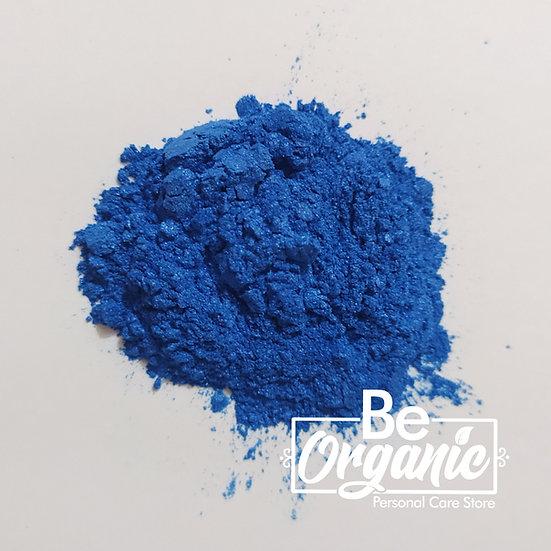 Mica cosmética Azul