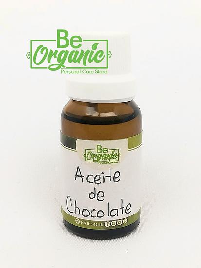 aceite esencial de chocolate