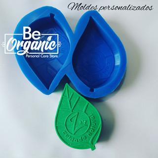Molde personalizado Logo  Cuidado natura