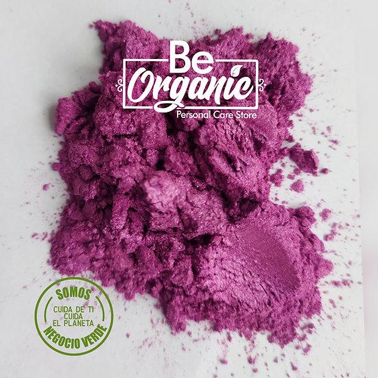 Mica cosmética color violeta