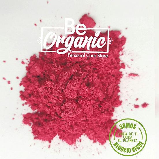 Mica cosmética color rosa