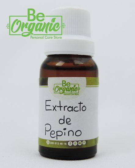 Extracto de pepino para jabones de glicerina