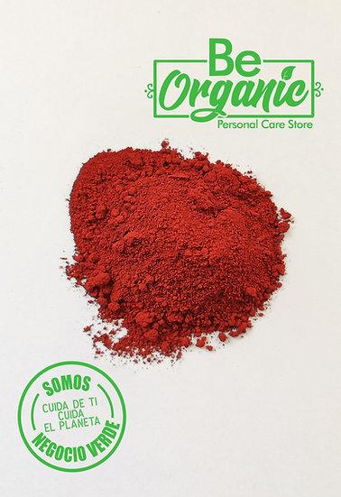 Oxido de Hierro grado Cosmético Rojo