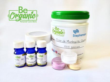 Kit de para elaborar una mantequilla corporal hidratante.