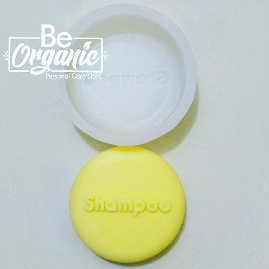 Molde silicona para shampoo sólido