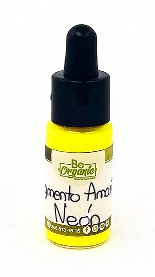 pigmento amaillo, pigmento fluorescente amarillo, pigmentos para jabones, pigmentos uso cosmético,colores que no migran