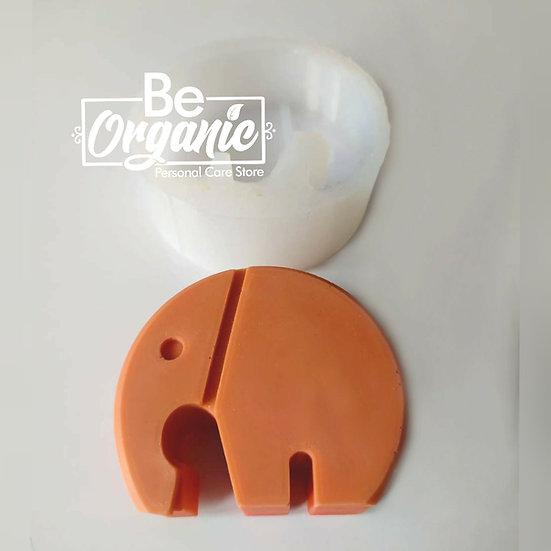 Molde en silicona Elefante