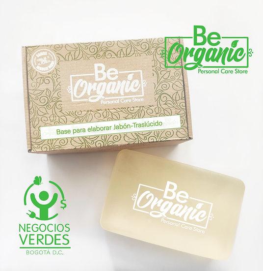 Base para elaborar Jabón-Traslúcido con aceites orgánicos de oliva y coco