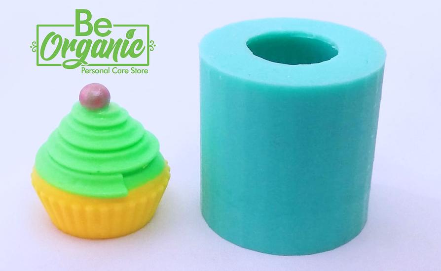 Molde silicona 3d Cupcake