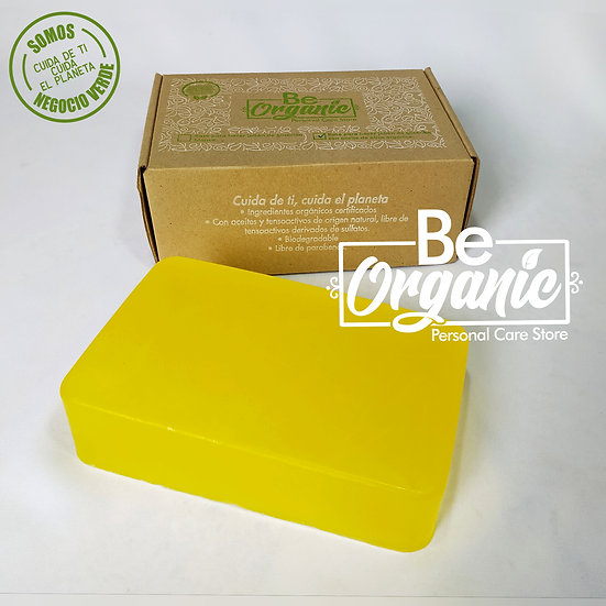 Base para elaborar jabón de glicerina con aceite de oliva orgánico