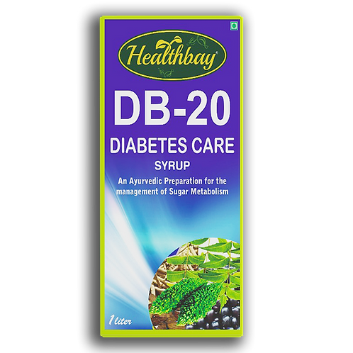 Healthbay's DB-20 Diabetes care juice 100% Natural (1.0 ltr)