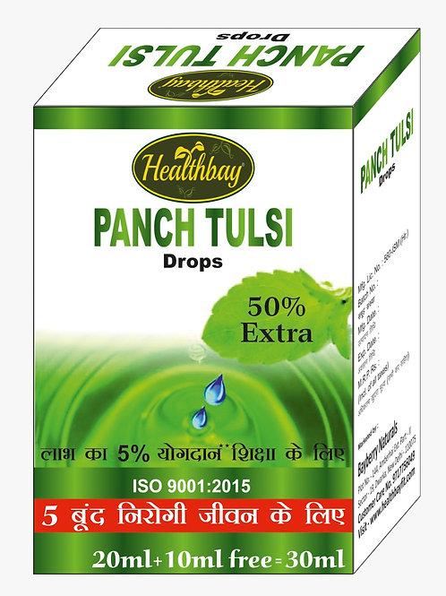 Healthbay's Panch Tulsi drops 20+10ml(free)