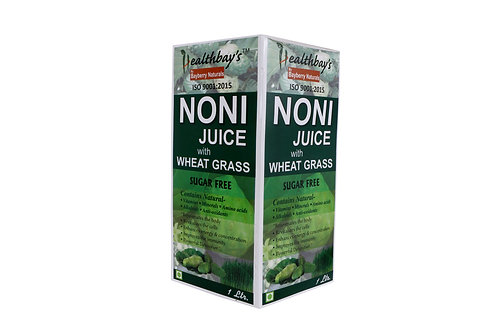 Healthbay Noni Juice with Wheatgrass (1.0 lt)
