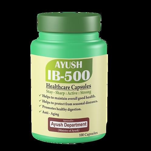 Ayush-IB-500 HealthCare (60caps)