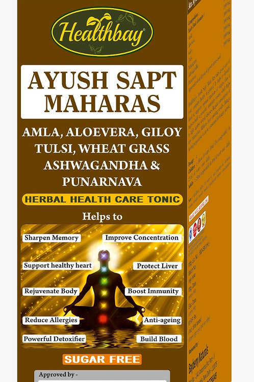 Healthbay's Ayush Sapta Maharas (1.0 lt)