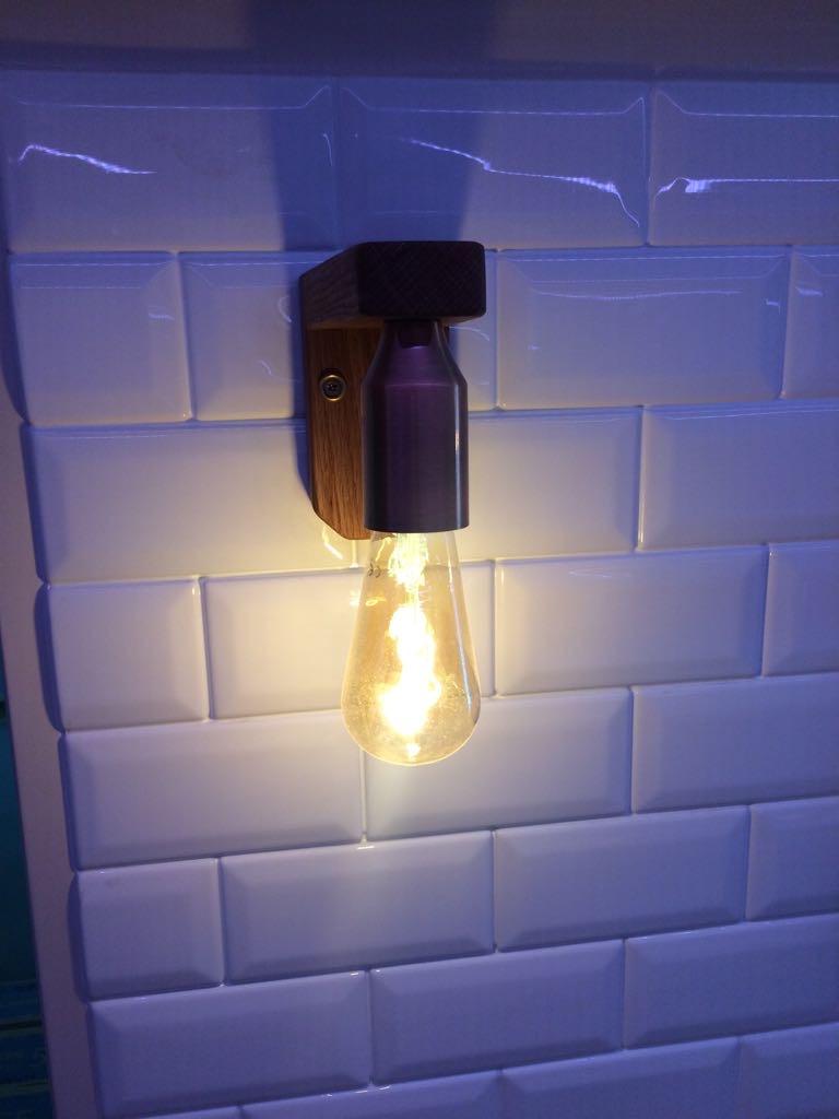 Edison copper lights