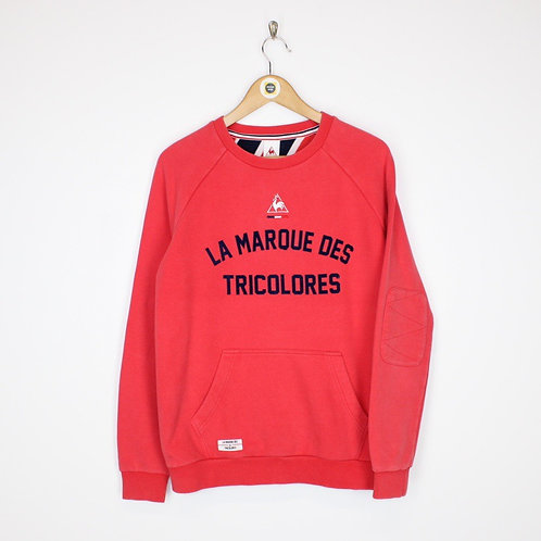 Vintage Le Coq Sportif Sweatshirt Medium