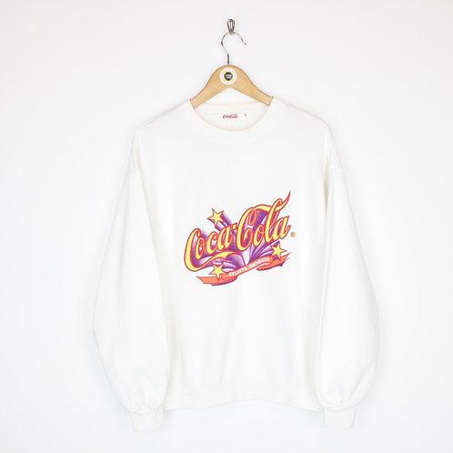 Vintage Coca Cola Sweatshirt Medium