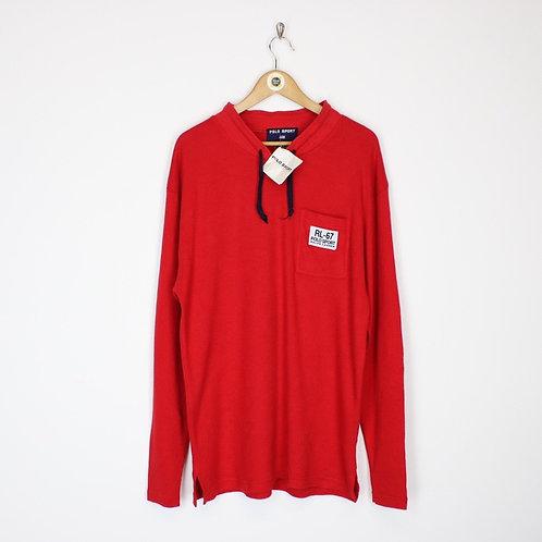 Deadstock Vintage Polo Sport Sweatshirt Large