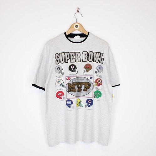 Vintage 1990 NFL T-Shirt Large