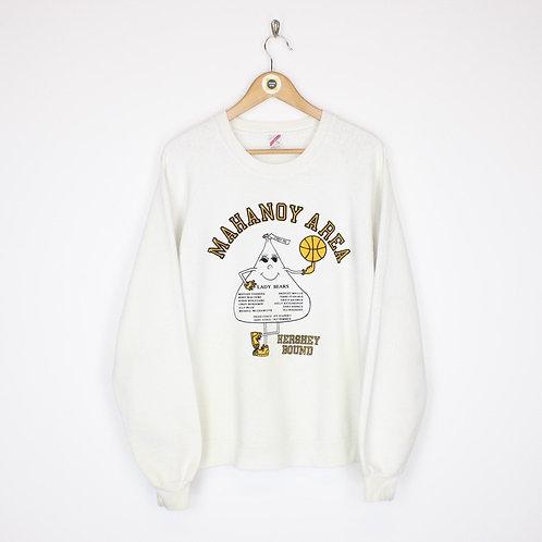 Vintage 1989/90 Jerzeez Mahanoy USA Sweatshirt XL