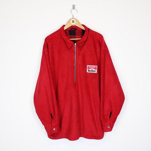 Vintage Marlboro Fleece Jacket XL