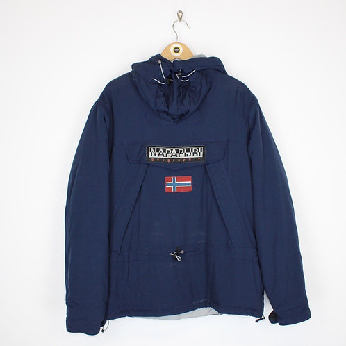 Vintage Napapijri Pullover Jacket Large