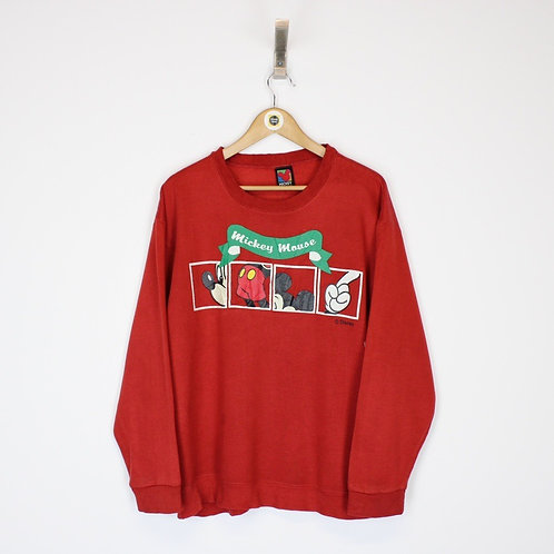 Vintage Disney Sweatshirt Large