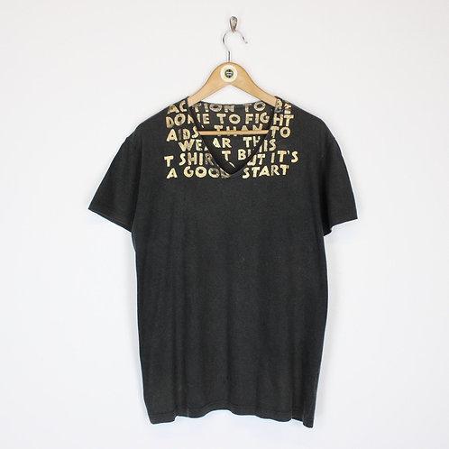 Vintage Aids T-Shirt Large