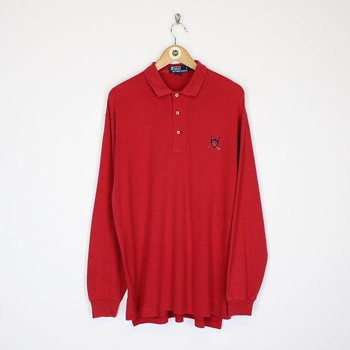 Vintage Polo Ralph Lauren Polo Shirt Medium