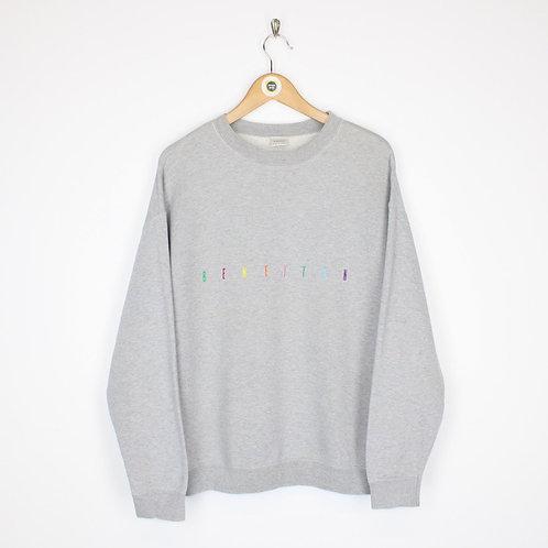 Vintage Benetton Sweatshirt Small