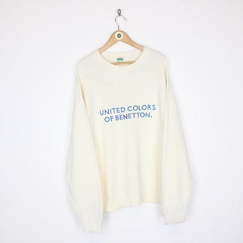 Vintage Benetton Sweatshirt Large