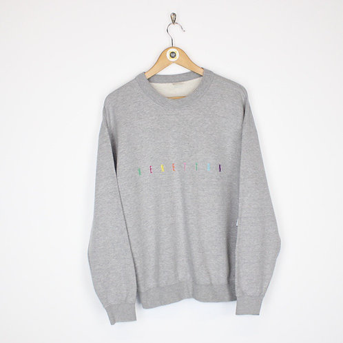 Vintage Benetton Sweatshirt Small