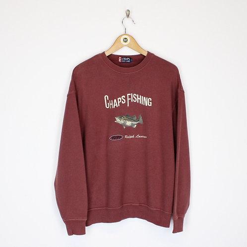 Vintage Chaps Sweatshirt Medium