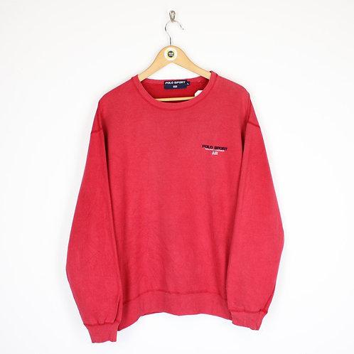 Vintage Polo Sport Sweatshirt Large