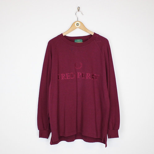 Vintage Fred Perry Sweatshirt Large