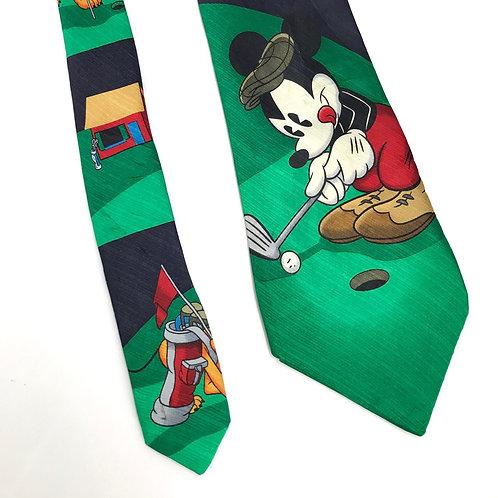 Vintage Disney Silk Tie