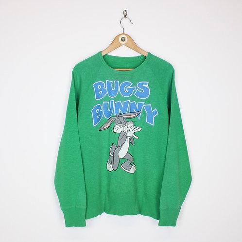 Vintage Warner Bros Sweatshirt XL